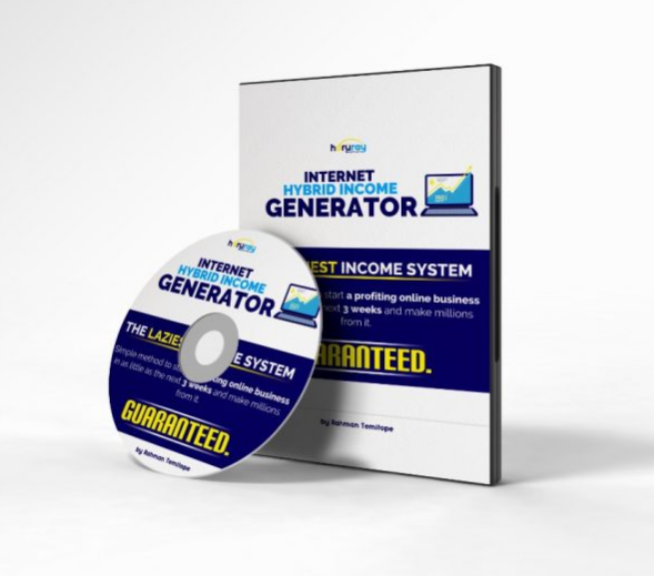 Internet Hybrid Income Generator: The laziest income system (Complete Step by Step Video Course)