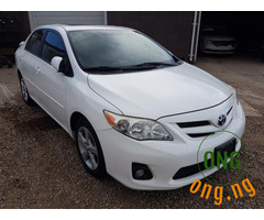 Foreign used 2012 Toyota Corolla