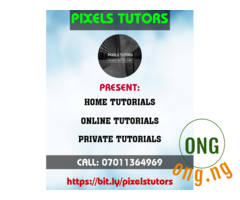 Pixels Tutors Private Lessons