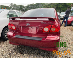 2007 Toyota Corolla Sports for sale.