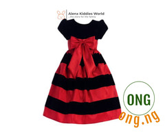 Red Season Girl's Dress