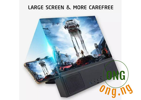 12 Inches 3D Screen Magnifier