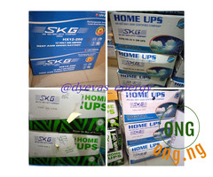 SKG inverters and batteries
