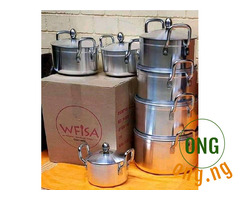 Strong cooking pots for sale