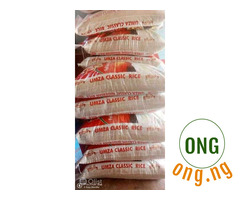 Bags of rice for sale