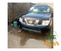 Foreign Nissan frontier 4×4