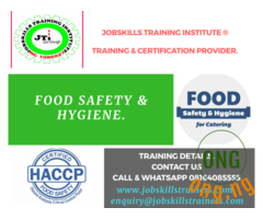 FOOD HANDLING SAFETY TRAINING
