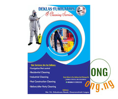 Fumigation and cleaning