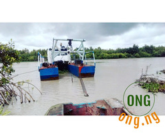 WATER DREDGER FOR SALE