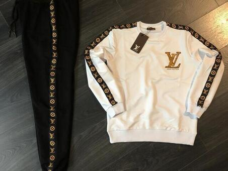 Designer joggers and T-shirt