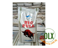 50kg bag of Rice stone free for sale. Contact 08036782534