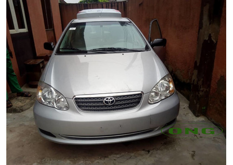 Toyota Corolla 2007 Tokunbo in perfect shape