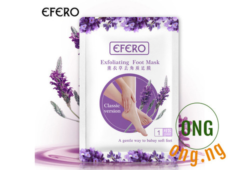 Efero natural peeling footmask