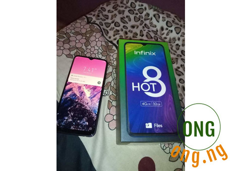 Infinix hot 8 for sale
