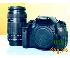 Canon EOS Rebel T4i/650D Camera + Canon Lens EF-S 55mm-250mm