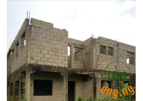uncompleted 6 block units of 2 bed room flat