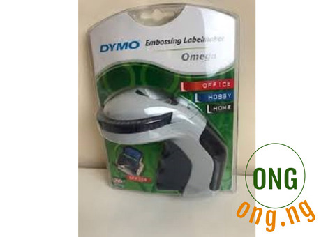 Dymo Embossing Home Label Maker With Turn And Click System