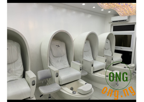 6 Set of Pedicure/ massage chair (2 in 1)