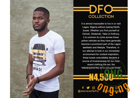 Afro T-shirt DFO collection