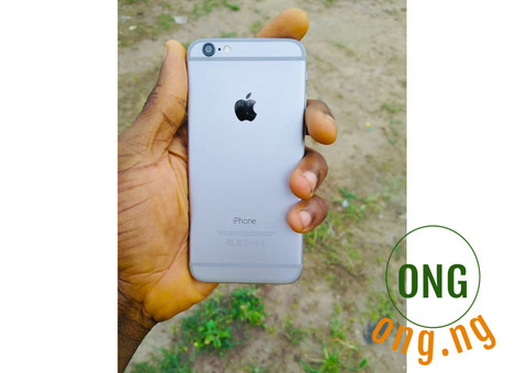 iPhone 6 phone 16 gb silver plated