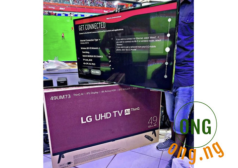 Lg 49 inch tv for sale