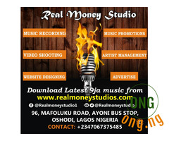 Gospel music recording studio in Bariga Lagos