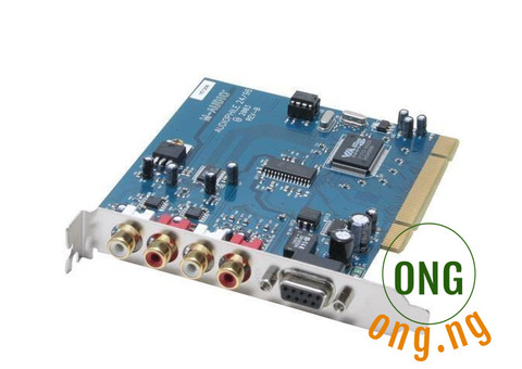 M audio 4in4out Sound Card