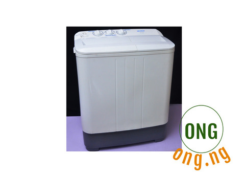 Skyrun Semi Automatic Washing Machine (white) with dryer