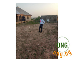3 standard master bedroom bungalow on a plot and half land..