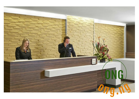 Customer service/ hotel front desk