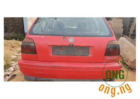 Volkswagen Golf 3. Foreign used