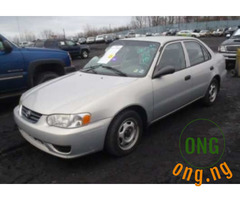 2000 Toyota Corolla car talk