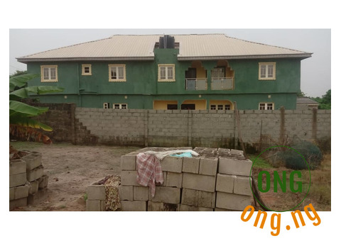 Newly Buit 3 Bedroom Flat Let fast @ Ofin town Igbogbo Area