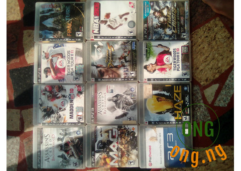 Ps3 multiple games