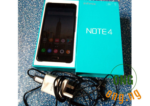 Infinix Note 4 (X572), Clean, cheap and affordable