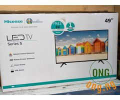 "Hisense 49"" Smart Full HD LED TV + Wall Bracket"