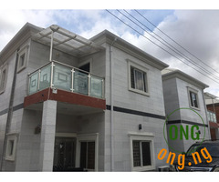 Two Brand New Semi Detached Duplexes + Boys Quarters.