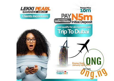 Buy A Land And Win A Trip To Dubai!