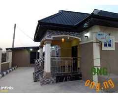 3 and 2 Bedroom Seating on 80 by 100 for sale at Benin