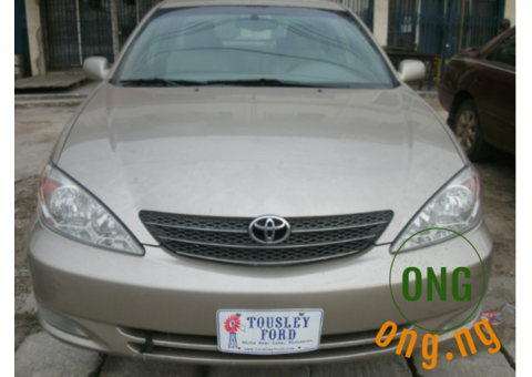 Clean 2003 Toyota Camry