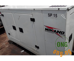 15kva Soundproof Diesel Generator For Sale