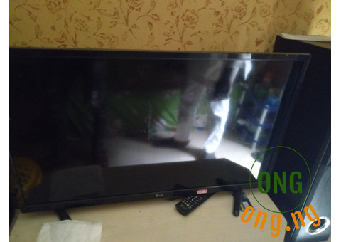 LG 32 inches with receipt