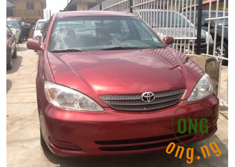Toyota Camry  for sale with the full option.