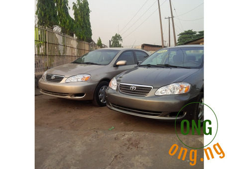 Toyota corolla for gevin away pice