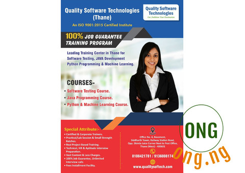 Software Testing famous institute in Thane -  Kalyan