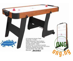 Air hockey table ( Foldable)