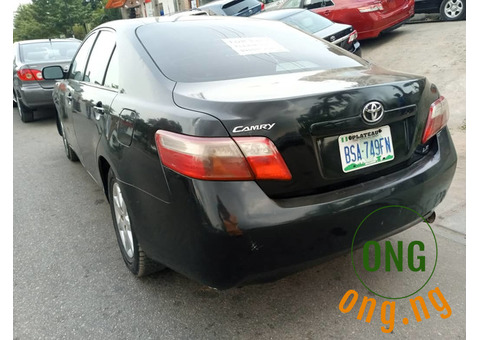 TOYOTA CAMRY 2007 4PLUGS FOR QUICK SALE