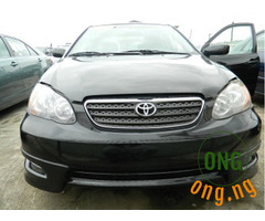 Direct Tokunbo 2008 Toyota Corolla Sport