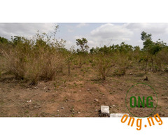 PLOTS OF LAND FOR SALE IN ABEOKUTA,OGUN STATE
