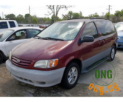 Buy and use Toyota sienna